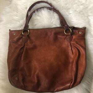 J.Crew Brown Leather Handbag